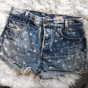 LF Stores vintage high waisted shorts